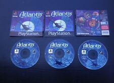 JEU Sony PLAYSTATION PS1 PS2 : ATLANTIS SECRETS D'UN MONDE OUBLIE complet