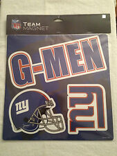 TEAM PRIDE NY NEW YORK GIANTS SLOGAN SIGN FRIDGE CAR MAGNET BIG BLUE G-MEN
