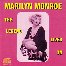 Marilyn MONROE-The Legend Lives On-LIMITED EDITION CD