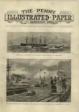 1890 barcos y barco de torpedo de tienda Gallina y pollos Miss Ada Rehan