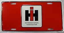 International Harvester Metal License Plate Ih L191