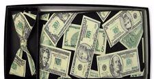 Funny Money Cummerbund and Bow Tie Set