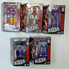Transformers: Siege War for Cybertron figure lot Refraktor Barricade Brunt