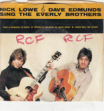 NICK LOWE & DAVE EDMUNDS - sing the everly brothers 7""
