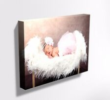 YOUR PHOTO PICTURE ON CANVAS PRINT ! FRAMED !  DEEP FRAME MATAGA