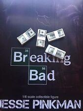 Threezero Breaking Bad brba Jesse Pinkman efectivo paquetes x 4 Suelto Escala 1/6th