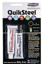 Blue Magic 17502tri Quicksteel White Plastic Epoxy Weld 2 Oz Blister Pack