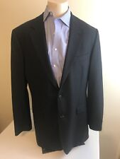 Brooks Brothers Sport coat 2 Button Jacket Gray Wool Blend Stretch 42R
