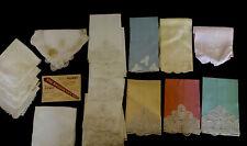Vintage Belgain Lace 17 Pieces