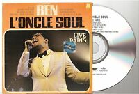 BEN L'ONCLE SOUL live paris CD PROMO SAMPLER