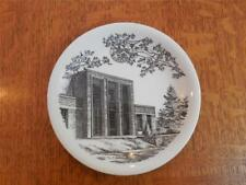 "Wedgwood Appleby College, Ontario, Canada 6 1/4"" creamware plate AS IS"