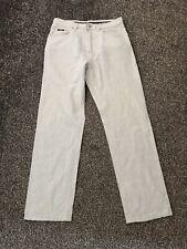 Hugo Boss Alabama Select Line Men's Light Blue Jeans Linen Blend W32 L32
