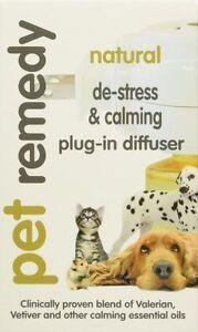 Pet Remedy Calming Plug In Diffuser Natural De-Stress & 40 ml For All Pets