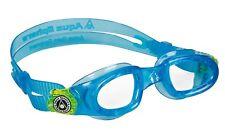 Aqua Sphere Moby Niños Discos Transparentes Gafas de Nadar Aqua / Lima