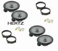 Hertz K 165 Set 8 Arcas Alfa Romeo 147 159 Conn / Brkt Altavoces Ant / Post
