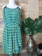 NWT Impeccable Pig Sz L Colorful Slip Wrap Dress Tunic ~ Sleeveless