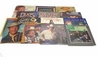 14 Country Music Records - Merle Haggard Hank Williams jr. Loretta Lynn Strait