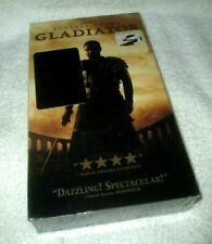 Gladiator Russell Crowe Vhs New Factory Sealed 2000 Film Winner 5 Academy Awards