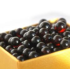 Baroque Baltic amber loose beads 36 pcs cherry