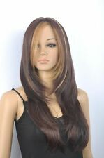 CHENSW26  new style  long brown mixed  cosplay health hair wigs for women wig