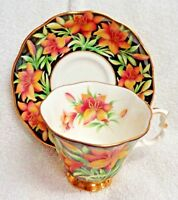 Royal Albert Provincial Flowers Prairie Lily  Cup and Saucer