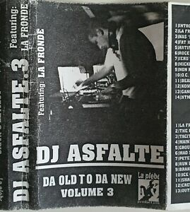 Mixtape k7 Dj Asfalte La Fronde rap hip hop rare