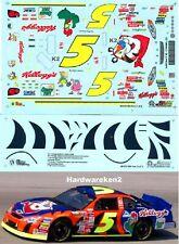 NASCAR DECAL # 5 KELLOGG'S TONY the TIGER 2001 MONTE CARLO TERRY LABONTE  SLIXX