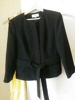 Women's Calvin Klein Black Blazer/Jacket Size 8