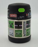 Thermos 10 oz Funtainer Food Jar with Spoon Hot and Cold Minecraft