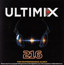 Ultimix 216 CD Ultimix Records Zedd Carly Rae Jepson Ed Sheeran Jason Derulo