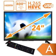 Fernseher 24 Zoll Triple Tuner Backlight Grundig HDMI HD LED TV USB DVB T2/C/S2