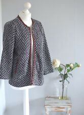 MONSOON Aztec print casual cardigan/jacket, 16