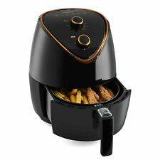 Emperial Air Fryer Low Fat Healthy Cooker Oil Free Frying Chip Fry Black 4.5L