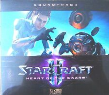 Starcraft 2 Collectors Edition Soundtrack CD - OST - Neu Collector's II NEW