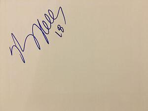 Kasey Keller Autographed 8x10 Blank Photo Seattle Sounders Signed Photo Soccer
