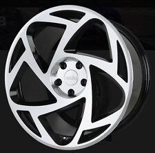 20X8.5/10 Radi8 S5 5x112 +45/42 Black Rims Fits Mercedes E350 E550 2011+