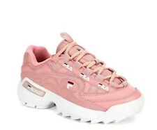 FILA Pink M Width Athletic Shoes for