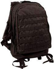 Rothco Tactical MOLLE II 3 Day Assault Pack Backpack in Black