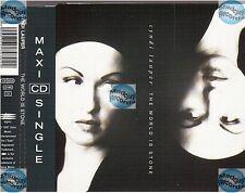 CYNDI LAUPER THE WORLD IS STONE CD MAXI starmania tycoon