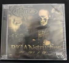 UK Chino XL Ricanstruction: The Black Rosary New Sealed CD Explicit - Rap Music