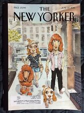 THE NEW YORKER MAGAZINE JUNE 2011 WALKING THE DOG LADY GAGA BEYONCE