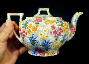 Beautiful Royal Winton Grimwades Chintz Marguerite Teapot