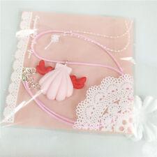 Pink Legend of Mermaid Melody Pichi Ruchia Hanon Rina Karen Shell Necklace Gifts