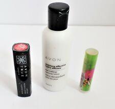 Avon Eye Makeup Remover, Lip Balm & True Color Country Rose Lipstick