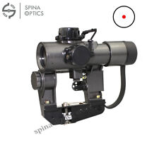 SPINA OPTICS RIFLE Recoil Resistant Red dot scope svd 1x30 Scope
