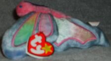 TY Beanie Babies Flitter Ty Dye Butterfly Retired Beanbag Stuffed Animal Toy