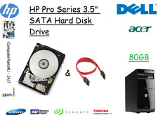 """80GB HP Pro 3505 3.5"""" SATA Hard Disk Drive (HDD) Replacement / Upgrade"""