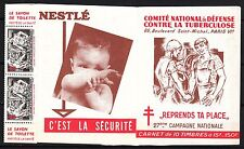 FRANCE CARNET TIMBRE **  ANTITUBERCULEUX  27 ° CAMPAGNE NATIONALE