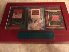 NEW Hallmark Christmas music series gift collection 3 cassettes