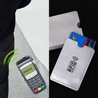 5er Set RFID Schutzhülle Kreditkarte EC-Karte Hülle Personalausweis Kartenhülle